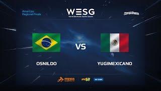 YugiMexicano vs Osnildo, game 1