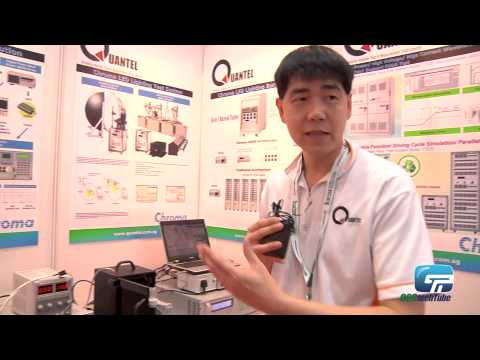 Quantel : Green Energy Testing - Stimulation Testing For Solar Products and LED Products