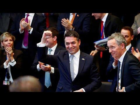 Υπεγράφη το πρωτόκολλο προσχώρησης στο ΝΑΤΟ της Βόρειας Μακεδονίας…
