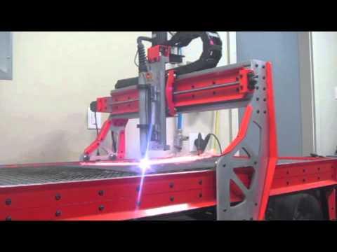 Plasma CNC Test 3