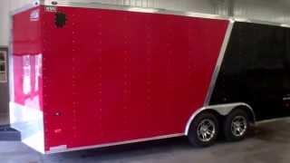 3. 2013 American Hauler 8.5 x 18 Enclosed Cargo Trailer
