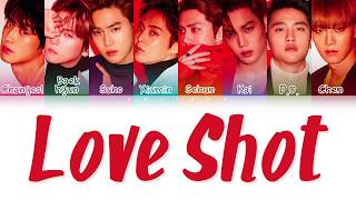 Video EXO (엑소) - 'LOVE SHOT' LYRICS (Color Coded Lyrics Han/Rom/Eng/가사) MP3, 3GP, MP4, WEBM, AVI, FLV Januari 2019
