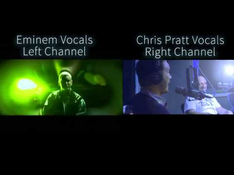 A couple days ago you saw he video of Chris Pratt rapping Eminem, here is how accurate he was compared to Eminem's official verse.