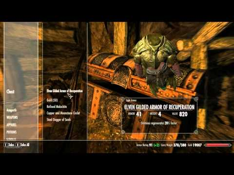 Skyrim How To Get Ebony Mail (Rare Armor)