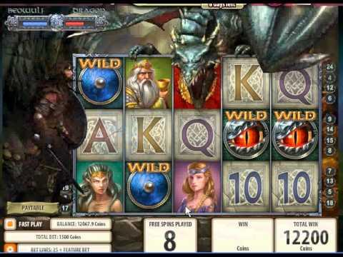75,200 Big Win - Beowulf Slot Game