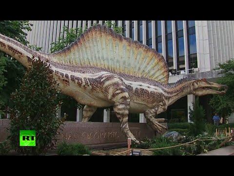 Meet Spinosaurus: 50-ft T-Rex killer, science-breaking combo of croc & bird