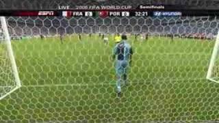 WM 2006: Zidanes Elfer gegen Portugal bringt Frankreich ins Finale