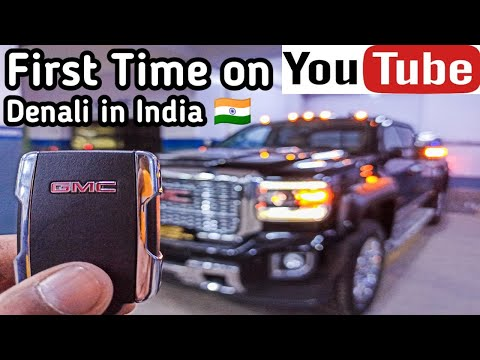 India's First Preowned GMC Sierra Denali 2500HD On YouTube | Imported Car in India | HUV