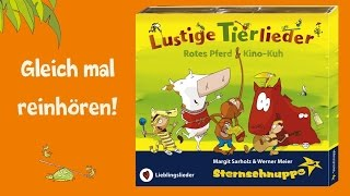 Kinderlieder Sternschnuppe - Lustige Tierlieder - Reinhören