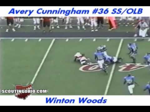 Avery Cunningham High School Highlights video.