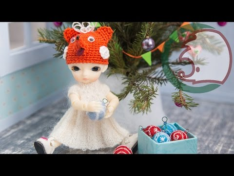 Елка для кукол видео