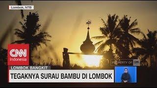 Download Video Tegaknya Surau Bambu di Lombok MP3 3GP MP4