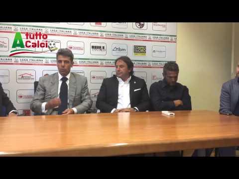 L'Aquila calcio, la conferenza stampa di…