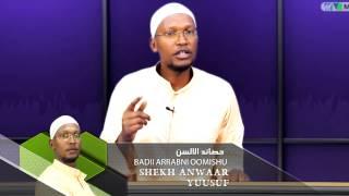 Shekh Anwaar Yuusuf, BADII ARRABNI OOMISHU  Kutaa 2ffaa