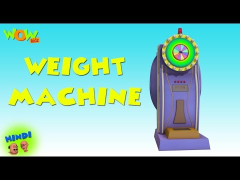 Video Weight Machine - Motu Patlu in Hindi - 3D Animation Cartoon for Kids -As seen on Nickelodeon download in MP3, 3GP, MP4, WEBM, AVI, FLV January 2017