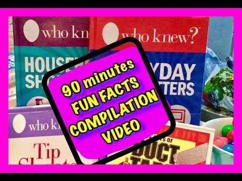 Relaxing, Fun Facts Compilation Video ASMR quiet whispering 3Dio Binaural Mic, juicy gumballs