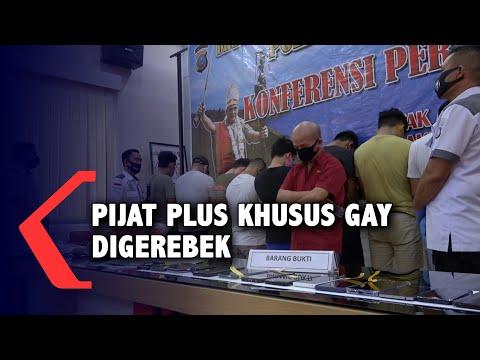 Pijat Plus Khusus Gay Digerebek Polda Sumut