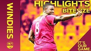 Windies vs England 5th ODI 2019 | Bitesize Highlights
