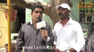 Singer Ram Thiruparai at Yazh Movie Single Track Launch
