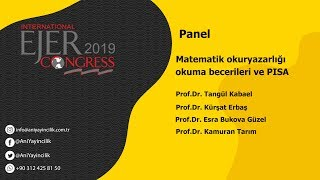 EJERCongress 2019 | Panel Topic : Education Level in Mathematics