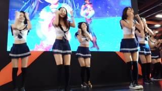 20170513 開場舞 水手服 美少女 電子機台展 向上集團