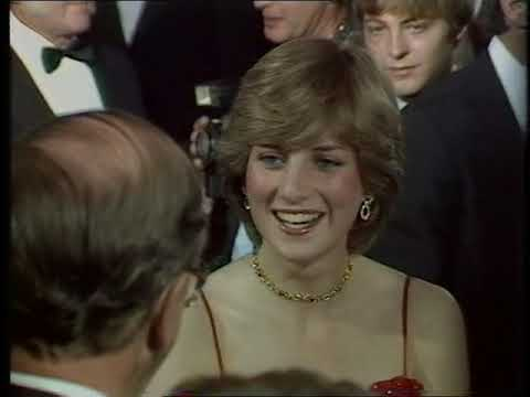 Princess Diana | Lady Diana Spencer | Film Premiere | For your eyes only | James Bond | 1981