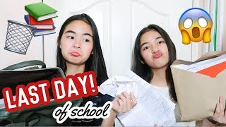 LAST DAY OF SCHOOL (Bag Raid)   Princess And Nicole
