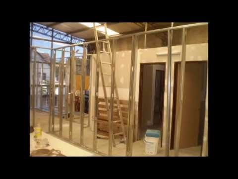 Video de Construccion en Seco Durlock Precio Cielorrasos Divisiones DurlockColocacion.com