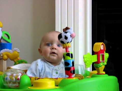 0 Fun Friday Video: The Terrified (and Elated) Baby