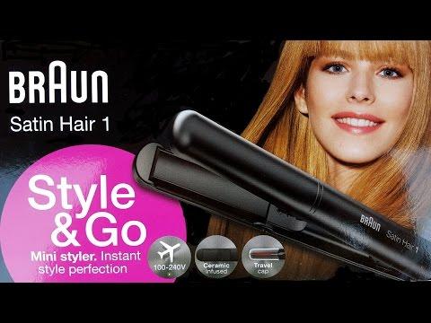Placa de indreptat parul Braun Style&Go Satin Hair 1