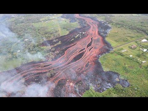 Χαβάη: Εξερράγη το ηφαίστειο Κιλαουέα – Εικόνες αποκάλυψης…