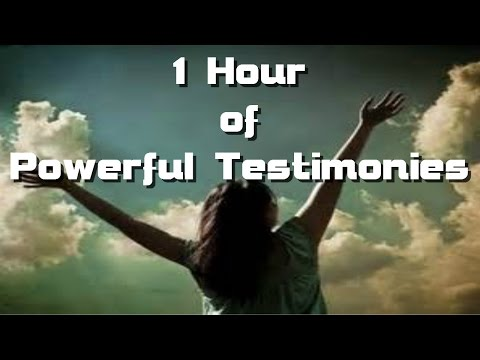 1 Hour Of Powerful Testimonies About The Saving Grace Of Jesus Christ