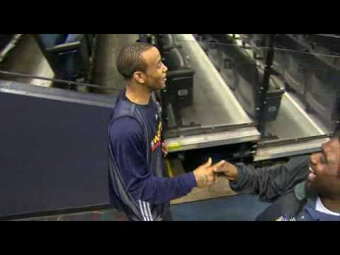 0 With the NBA season back this week, here is Monta Ellis with the greatest handshake ever seen.