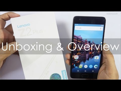 Lenovo Z2 Plus Unboxing & Overview (Indian Retail Unit)
