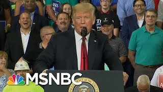 President Donald Trump Spins Out As Country Remembers John McCain | Morning Joe | MSNBC