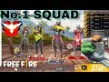 Video Free Fire | SQUAD Ranked Game | Heroic Game Play [Hindi]