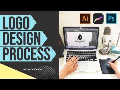 Logo Design Using Procreate & Adobe Illustrator | Graphic Design Tutorial
