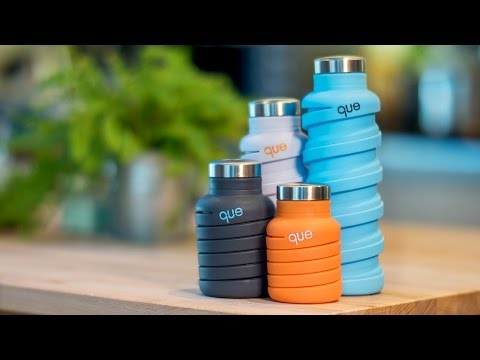 Can your water bottle fold like this?