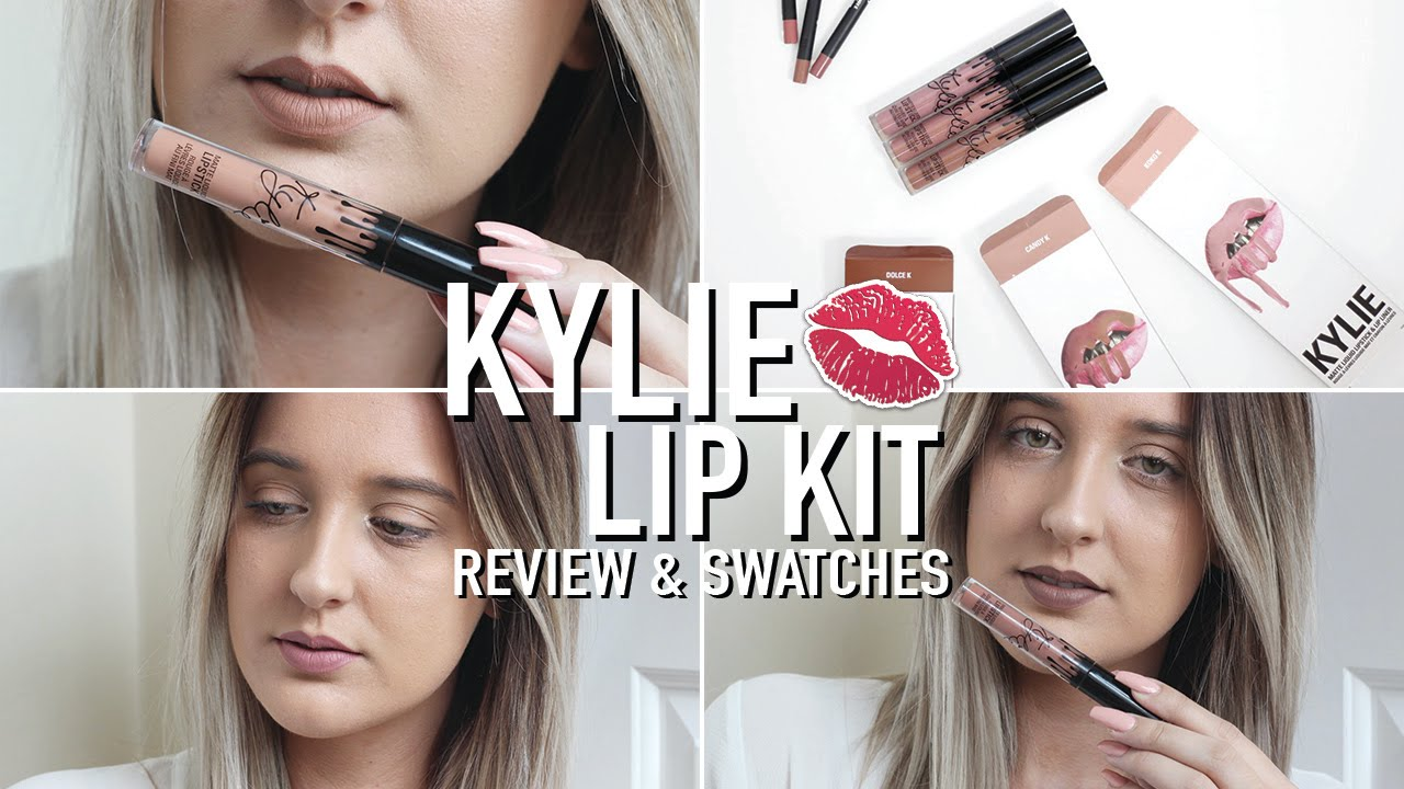 KYLIE JENNER LIP KITS REVIEW & SWATCHES | iamemmawilde