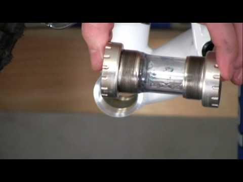 How to install a bottom bracket