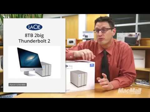 LaCie 8TB 2big Thunderbolt 2 Overview - MacMall