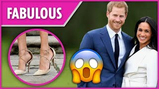 Why Meghan's shoes are always too big for her