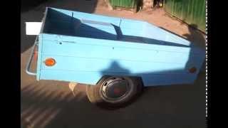 Самодельный прицеп для автомобиля видео, Homemade trailer for car video