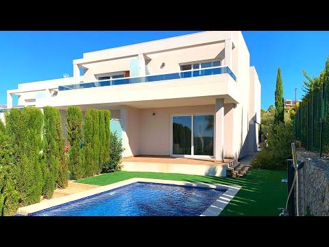 Недвижимость в Испании/Дома в Аликанте, Финестрате, Бенидорме/Купить дом недорого в стиле Хай Тек