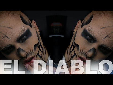 El Diablo Suicide Squad Makeup Tutorial | Alex Faction