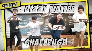 DIZZY WAITER CHALLENGE!!! | SAMSOLESE ID Video