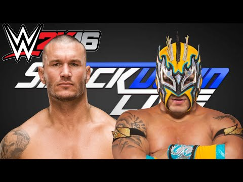 WWE 2K16: Randy Orton Vs. Kalisto