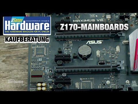 Mainboard-Kaufberatung: Z170-Hauptplatinen für Intel Skylake