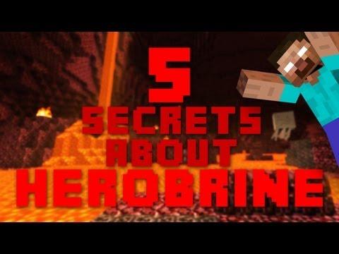 5 Secrets About Herobrine – Minecraft
