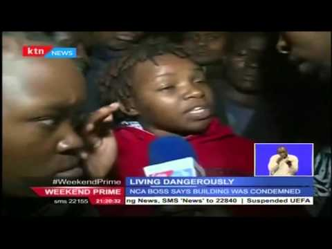 The Huruma building collapse has been attributed to weak structures and bad weather